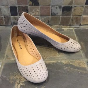Lucky Brand Suede Flats Size 9